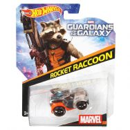 Hot Wheels Marvel Character Cars - Guardians of the Galaxy - Rocket Raccoon